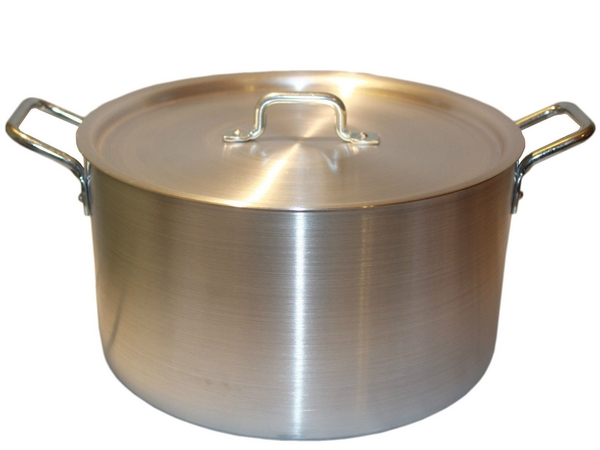Grote aluminium pannen