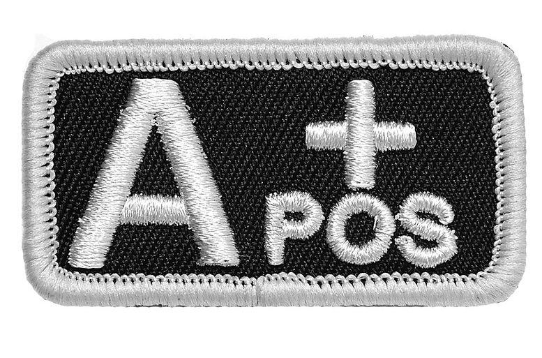 Badges bloedgroep