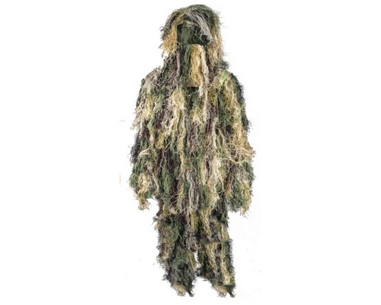 Ghillie suits en camo poncho's